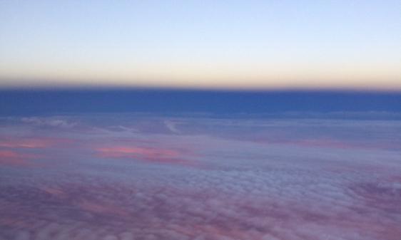 sunset in sky 3